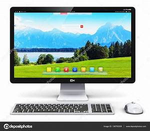 Computadora de escritorio Pc Foto de stock © scanrail #136793208