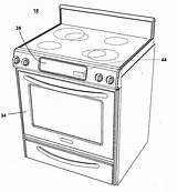 Oven Coloring Template Drawing Convection Sketch Microwave Patent Pages Patents Google sketch template