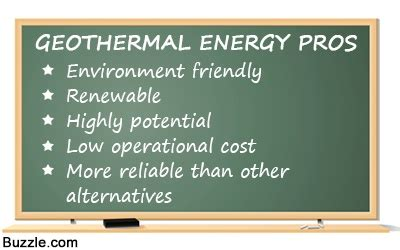 Geothermal Energy Pros And Cons  Lad Oma! Green