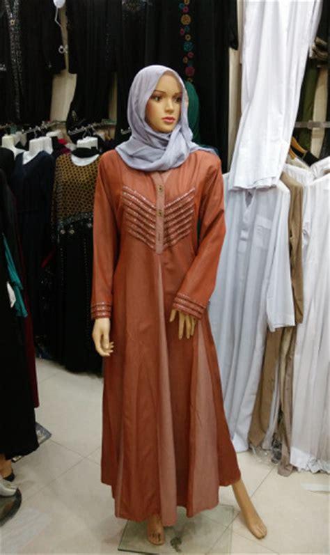 2015 new fashion modern islamic clothing for turkish muslim slim ferace denim dress