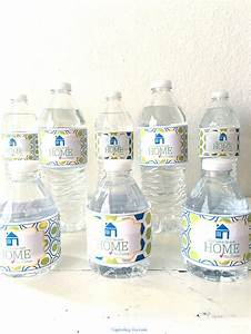 Welcome to our home water bottle label capturing joy for How to put labels on water bottles