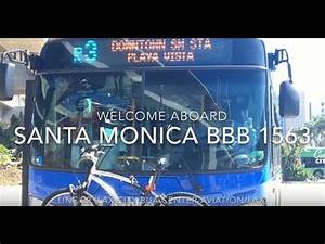 Santa Monica Big Blue Bus 2015 New Flyer XN60 #1563 | Coin ...