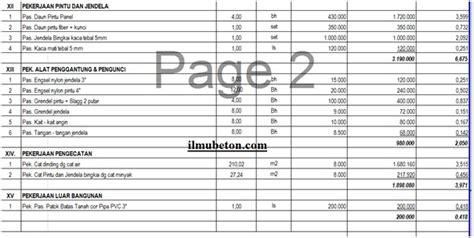 Contoh perhitungan rencana anggaran biaya rumah type 45.deskripsi lengkap. Rab Rumah Type 45 Excel 2020 / Berikut adalah salah satu contoh rab rumah tipe 45.