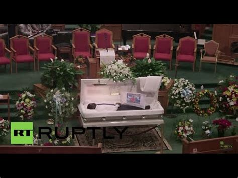 usa mourners   goodbyes  freddie gray funeral