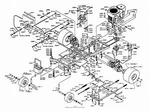 Dixon Ztr 5601  1995  Parts Diagram For Chassis Assembly