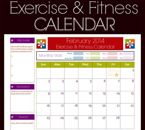 workout calendar template 9 fitness calendar templates excel templates