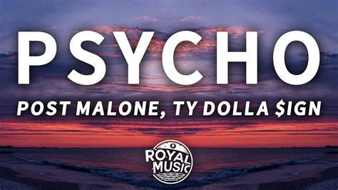 Psycho (lyrics) Feat. Ty Dolla $ign 🎵