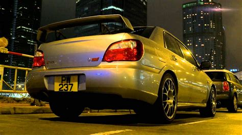 subaru wrx sti  hong kong youtube