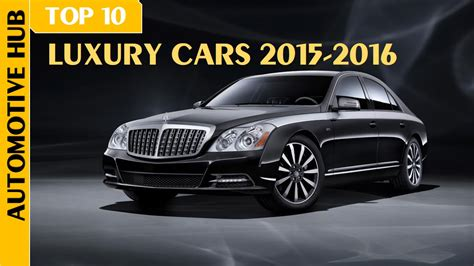 Top 10 Most Expensive Ultra Luxury Cars 2015-2016