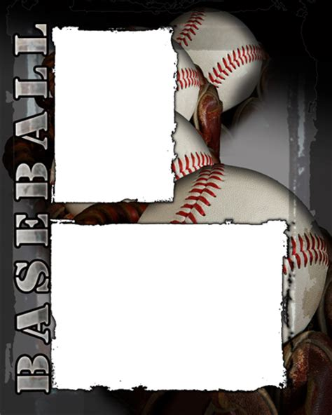 baseball template free baseball photo templates