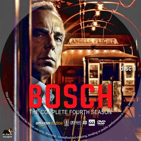 bosch season  disc   dvd label cover addict