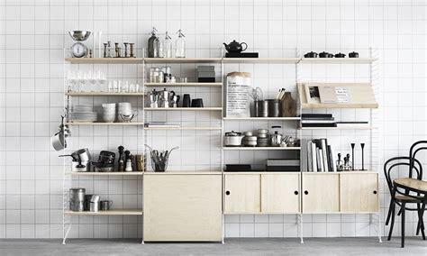 String Regal Küche by Regalsystem String Birke Gt Raum