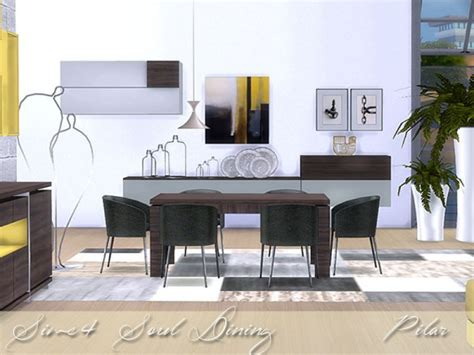 Simcontrol Soul Diningroom By Pilar • Sims 4 Downloads