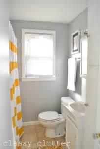 Yellow Gray Shower Curtain Photo
