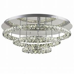 Led Deckenleuchte Kristall : licht trend deckenleuchte sehr grosse led kristall online kaufen otto ~ Orissabook.com Haus und Dekorationen