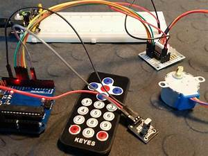 Control A Stepper Motor With An Ir Remote Control