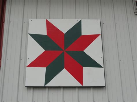Barn Quilt Blocks by Mirror Lake Bed Breakfast Bunk House And Cabin In The