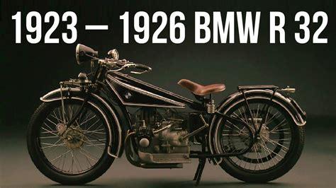1923  1926 Bmw R 32 Youtube