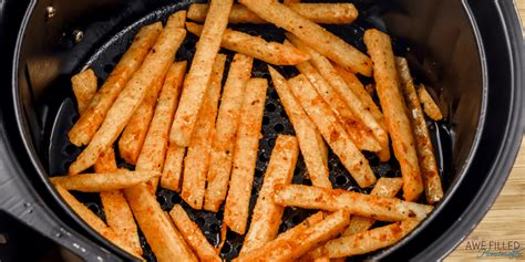 jicama fries air fryer condiment ketchup serve favorite