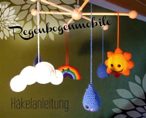 haekel mobile mit sonne wolken regen und regenbogen