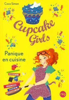 livre cupcake tome 8 panique en cuisine