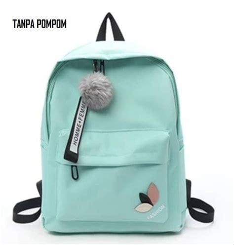 jual promo tas ransel backpack sekolah kuliah wanita