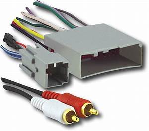 Metra Wiring Harness Adapter For Select Ford  Lincoln And Mercury Vehicles Gray 70-5521