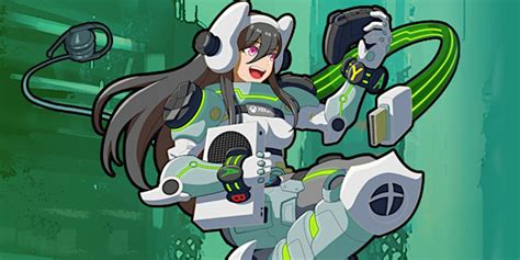 Xbox Has New Anime Girl Mascot In Latest Attempt To Crack
