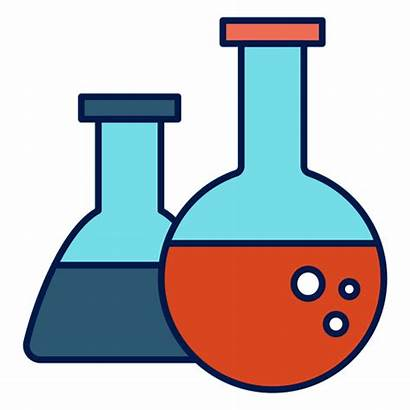 Chemistry Flask Icon Quimica Transparent Vector Vexels