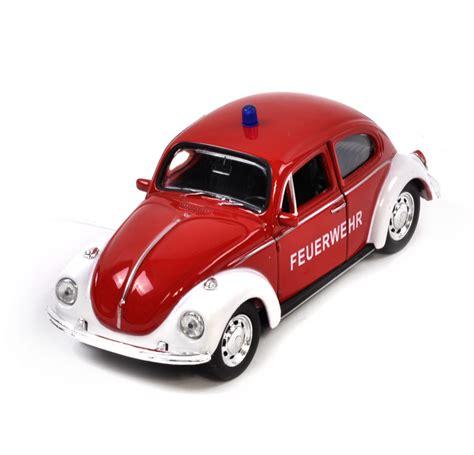 volkswagen fire volkswagen beetle red feuerwehr german model fire