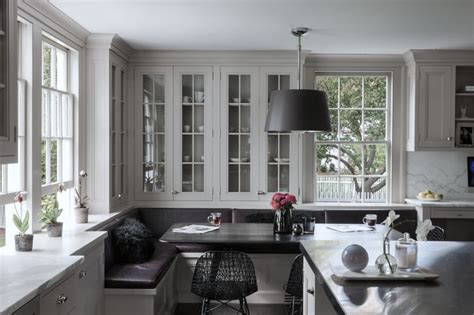 Scandinavian Cool Simplicity With Feminine Parisian Sophistication by By Yvonne Ferris Interiors Kitchens I Kitchen