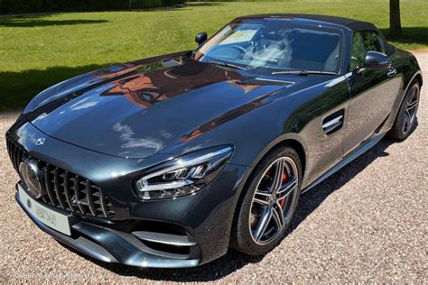 The online price excludes taxes and/or fees resulting from the sale of the vehicle, including, but not limited to destination charges, labour, title. 2019 2020MY 550bhp Mercedes AMG GT-C Roadster - Big Spec!! For Sale | Car And Classic