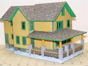 A Christmas Story Paper House | O Gauge Railroading On ...