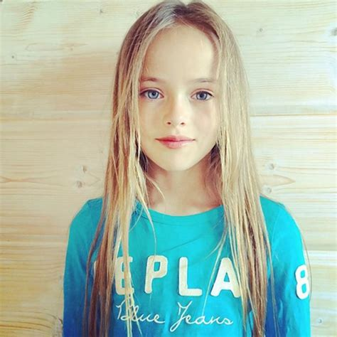 Russian 9 Year Old Supermodel Too Young Critis Say Ny Daily News