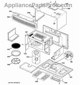 Parts For Ge Sca1001hss02  Oven Cavity Parts