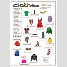 Clothes Worksheet  Free Esl Printable Worksheets Made By Teachers  Clothes  Clothes Worksheet