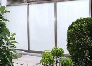 Trennwände Für Terrassen : sichtschutz aus glas mit edelstahl elementen gel nder sichtschutz sichtschutz terrasse ~ Eleganceandgraceweddings.com Haus und Dekorationen