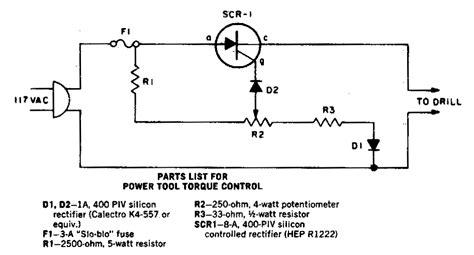 power tool torque controlcircuit diagram world