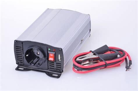 stromwandler 12v 230v mobiler spannungswandler wechselrichter inverter