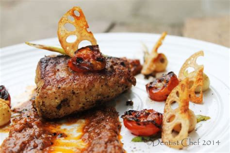 grouper pan recipe seared sauce roasted tomato fillet fried fish cook dentistvschef