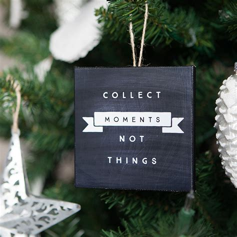 small things to collect mini canvas ornaments