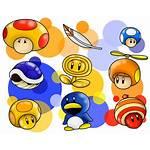 Mario Power Ups Deviantart Superlakitu Super Random