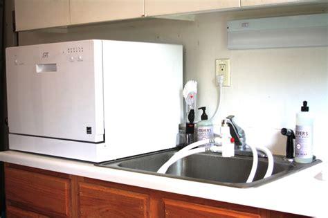 dishwasher with countertop countertop dishwasher dudeiwantthat