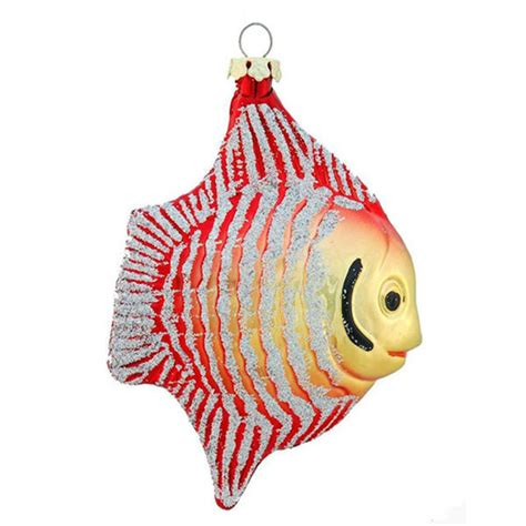 fish christmas ornament shatterproof