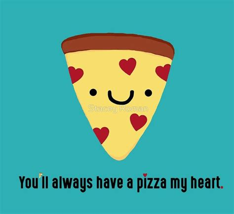Cute Valentine Meme - pizza pun slice kawaii funny italian puns heart love marriage valentine valentines