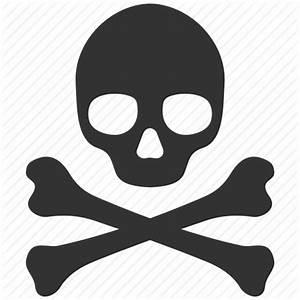 Alert, danger, death, face, pirate, skull, warning icon ...