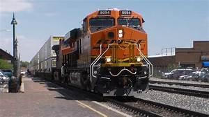 Hd - Amazing Bnsf Train Action In Flagstaff  Az