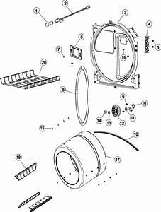 Admiral Ade7000ayw Dryer Drum Belt