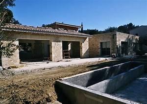 Construction En Pierre : construction d une magnifique maison en pierre dans le ~ Premium-room.com Idées de Décoration