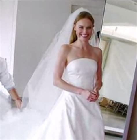 Kate Bosworth Wedding Dress Watch Her Try On The Gown For
